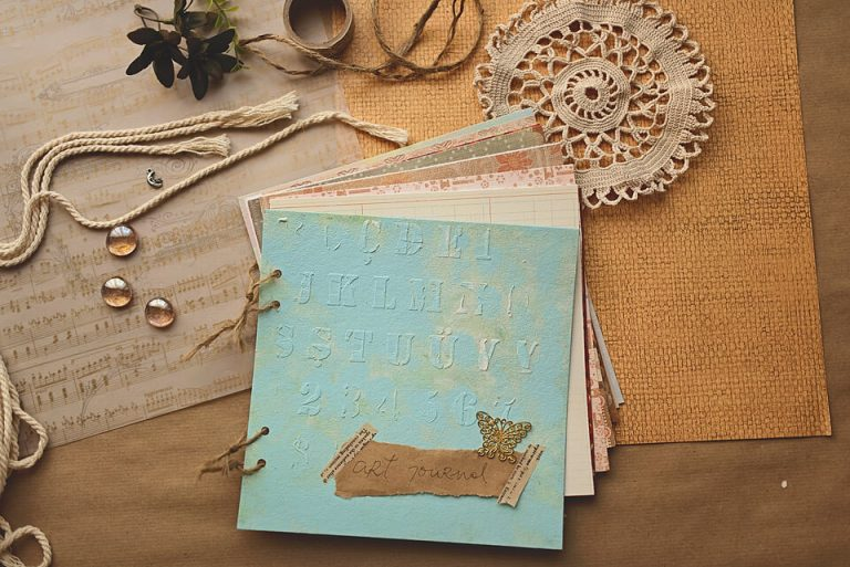 How to Make a Simple Art Journal: Easy Tutorial For Beginners