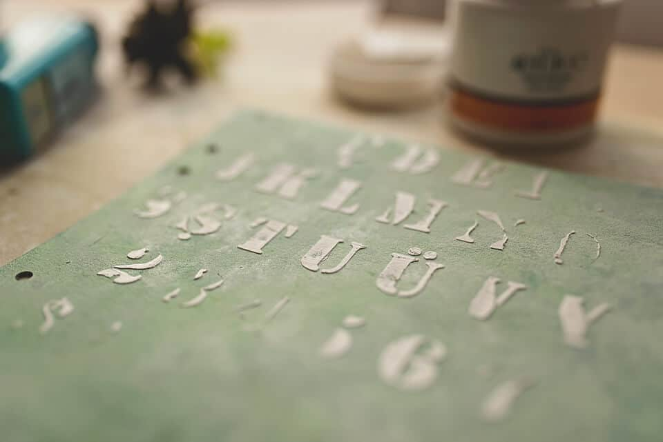 CLOSE UP OF JOURNAL COVER