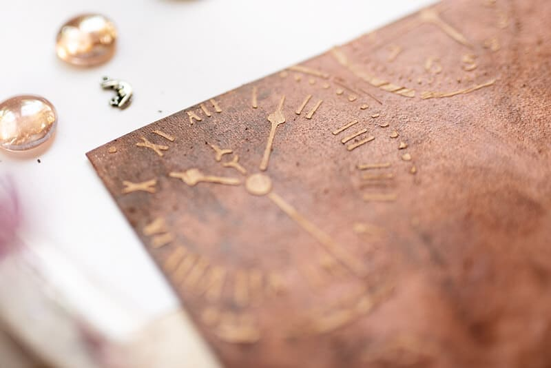 the cover of a photo album