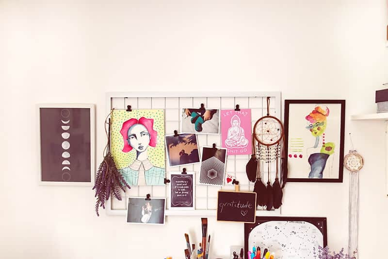 art journal inspiration in your home