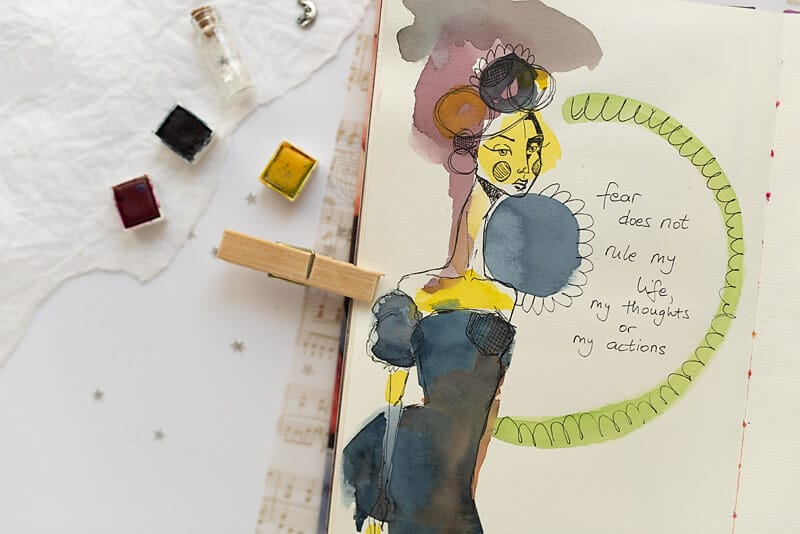 THEMED ART JOURNALS: POSITIVE AFFIRMATIONS