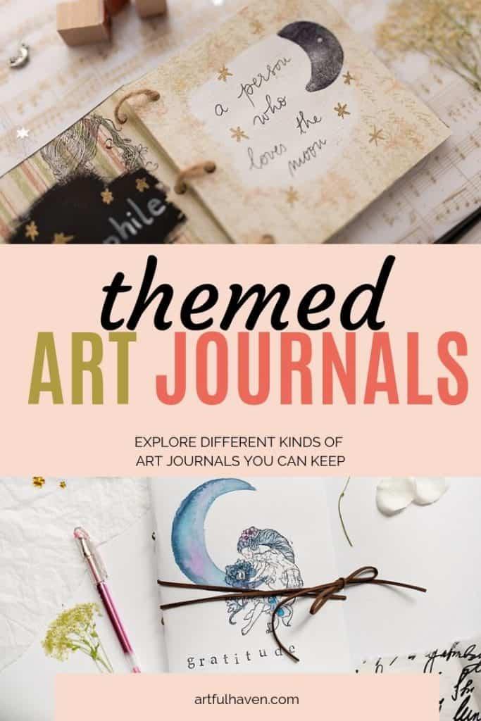 THEMED ART JOURNALS