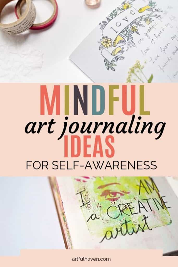 Mindful art journaling ideas