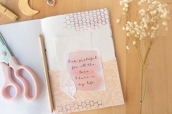 gratitude journal prompt for love
