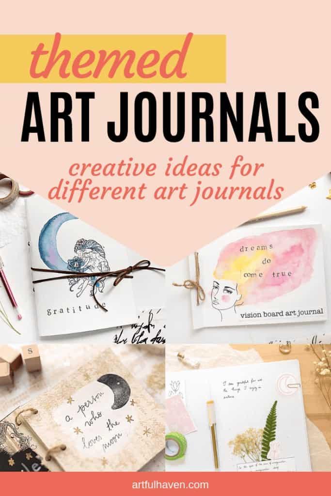 themed art journal ideas