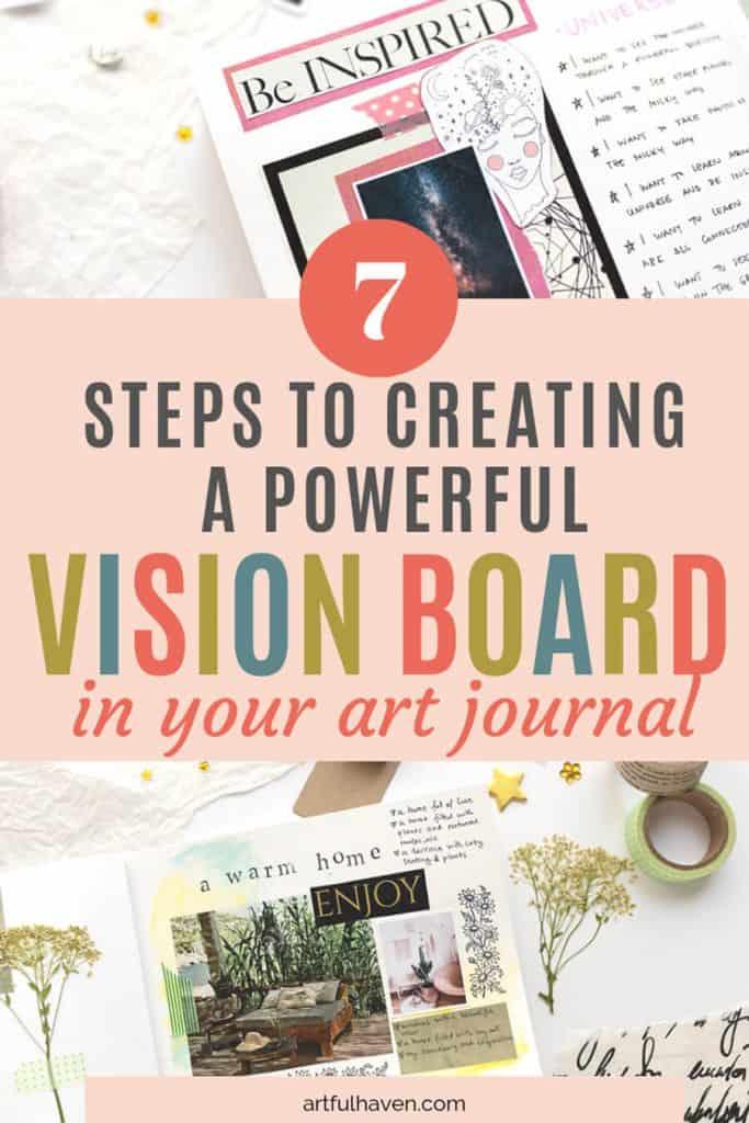 vision board art journal