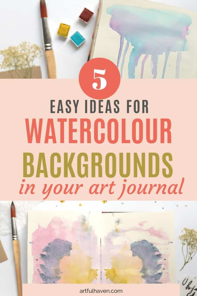 watercolor background ideas for beginners