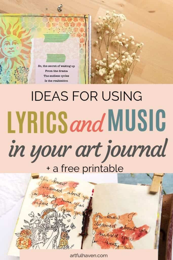 MUSIC AND LYRICS IN ART JOURNAL