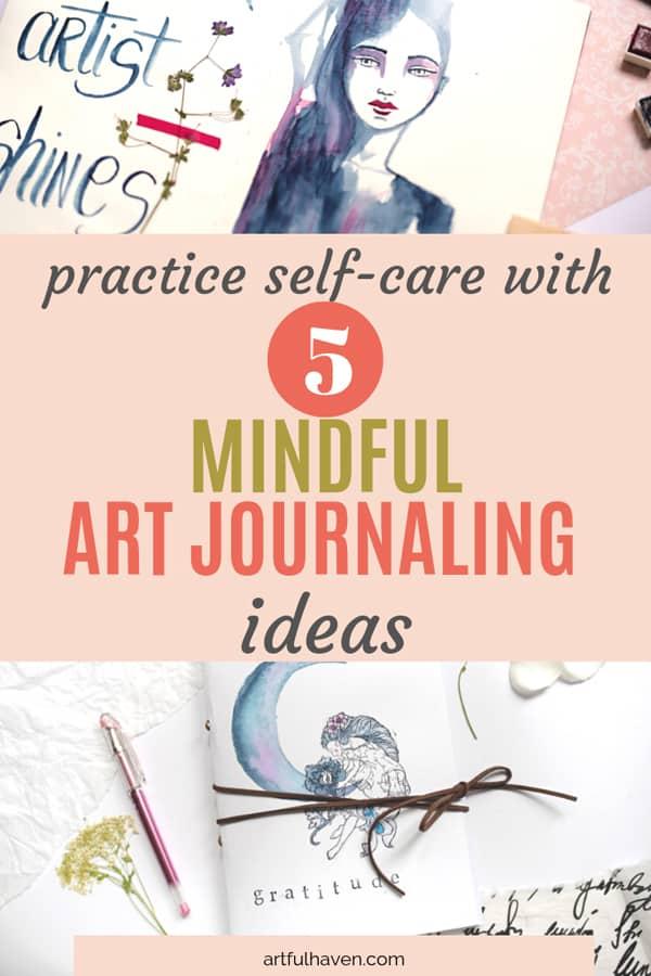 mindful art journaling ideas