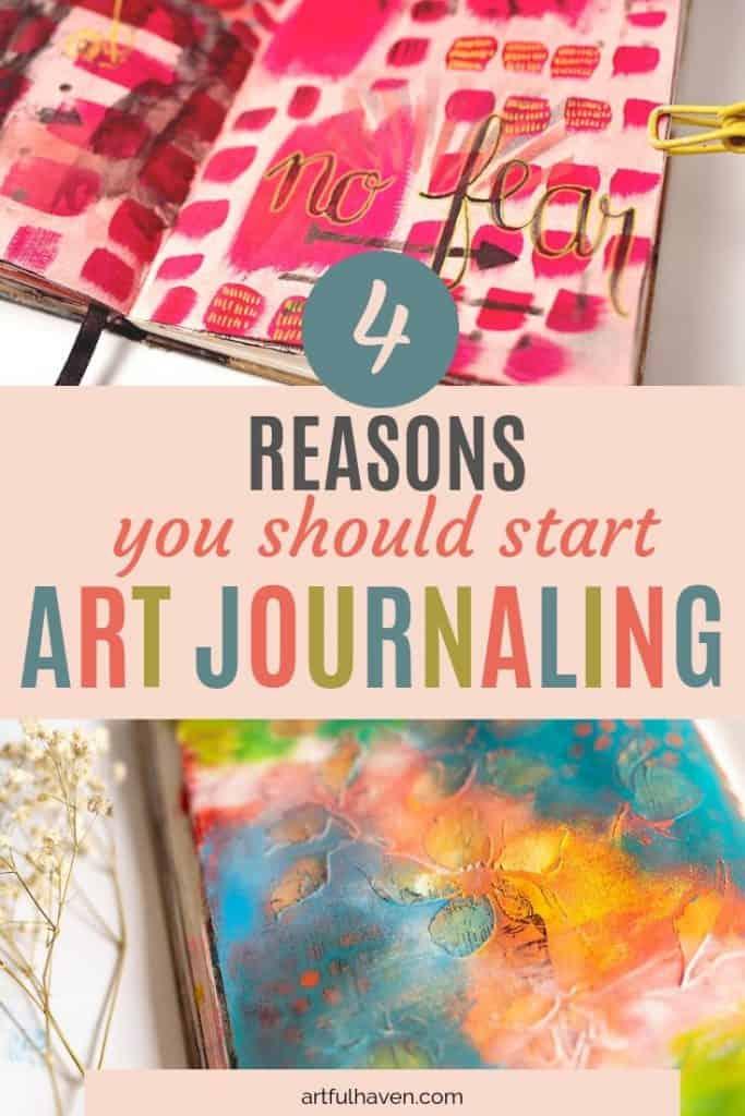 ART JOURNALING BENEFITS