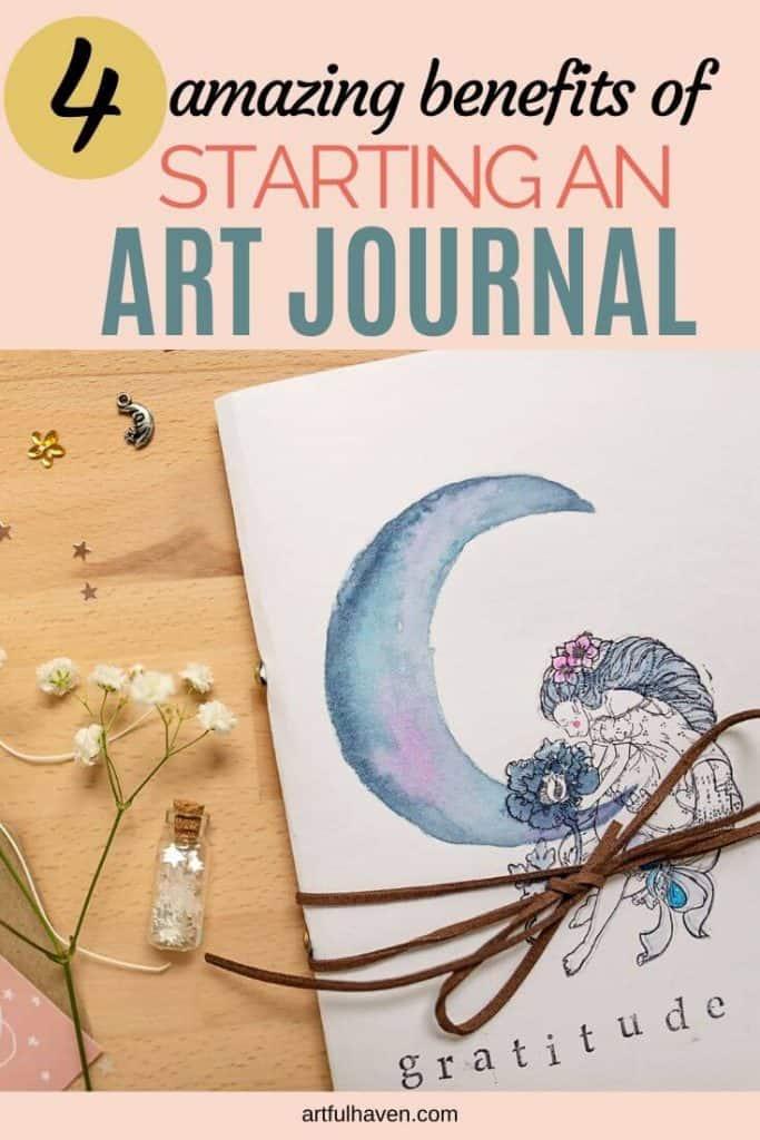 starting an art journal benefits