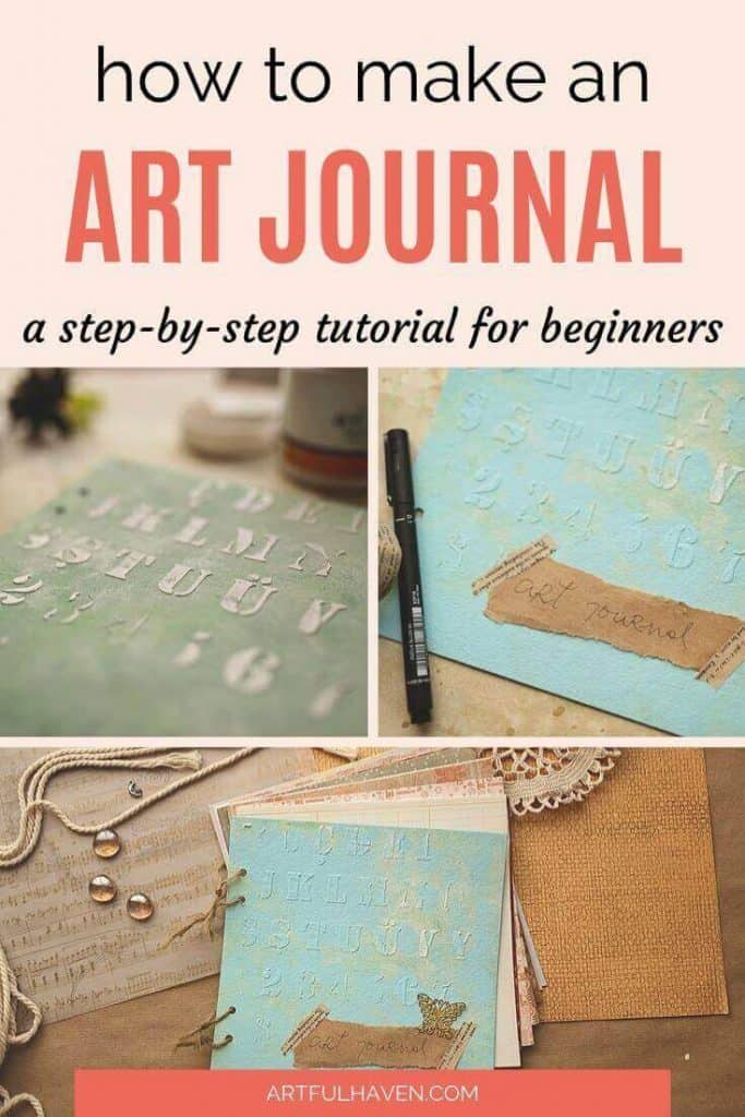 DIY ART JOURNAL TUTORIAL