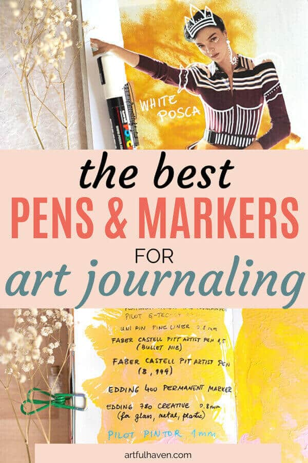 best pens and markers for art journaling