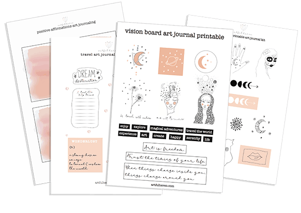 free art journal printables
