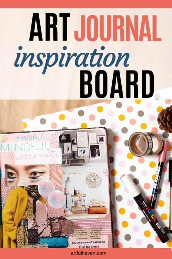inspiration board art journal