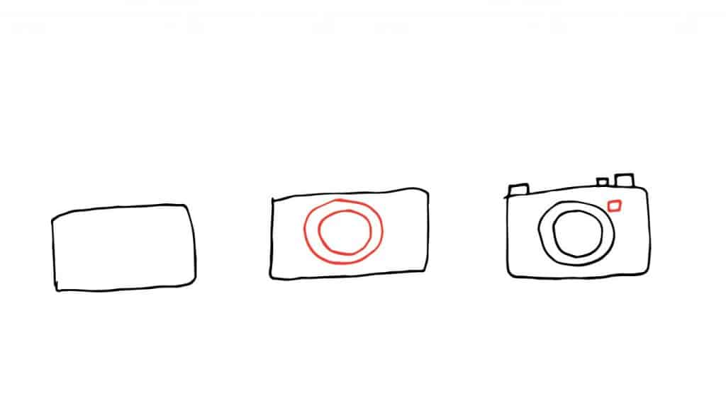 EASY THINGS TO DRAW-CAMERA