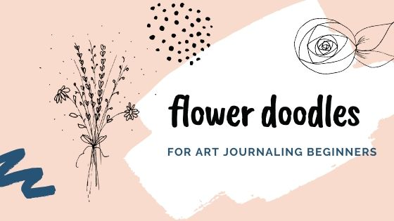 flower doodles for art journaling beginners