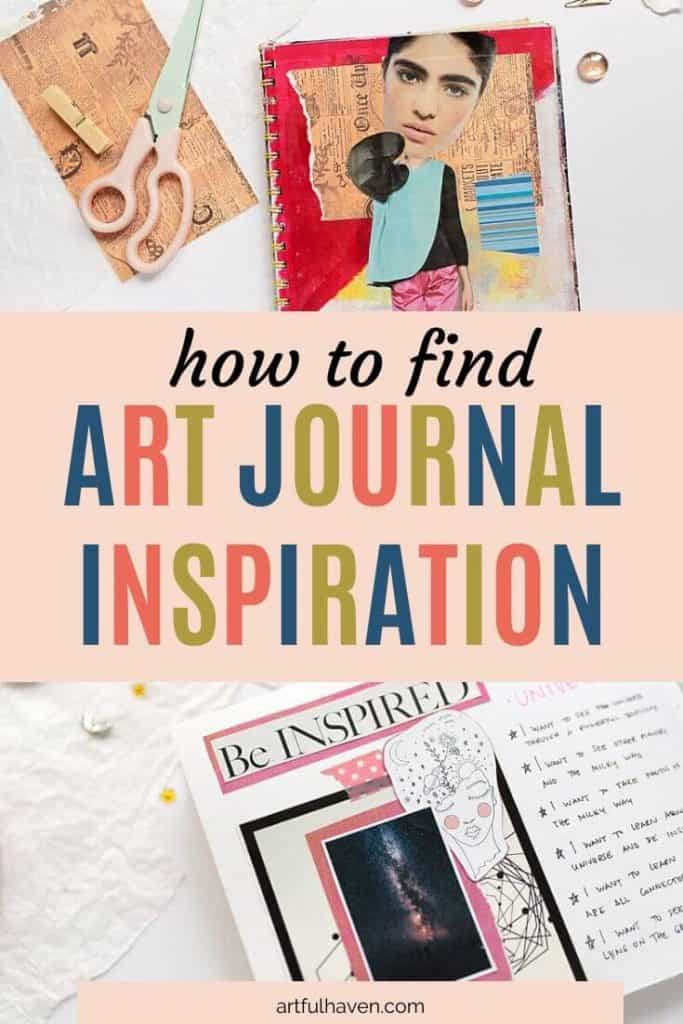 how to find art journal inspiration