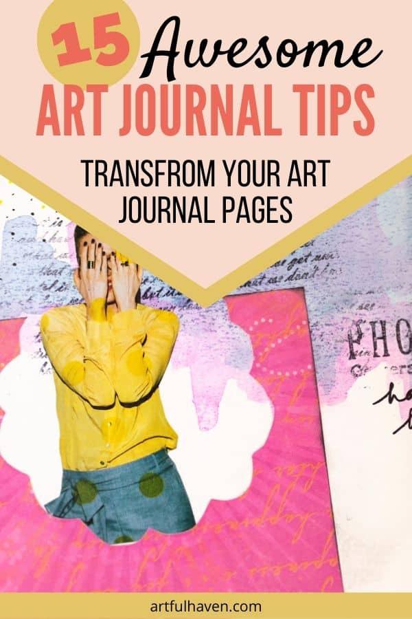 art journal tips