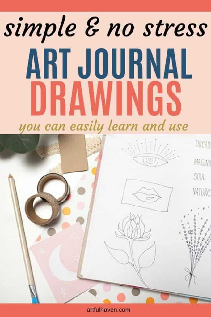 easy things to draw in your art journal