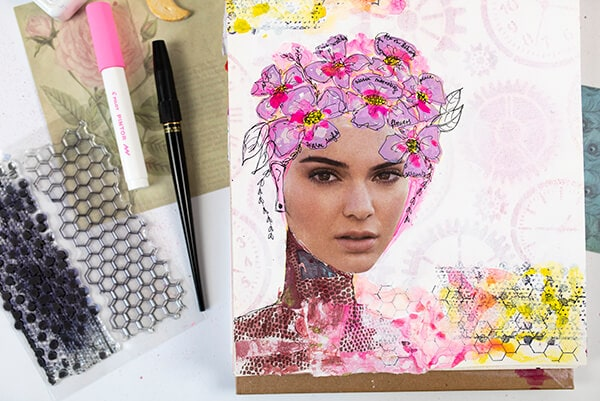 spring art journal prompts