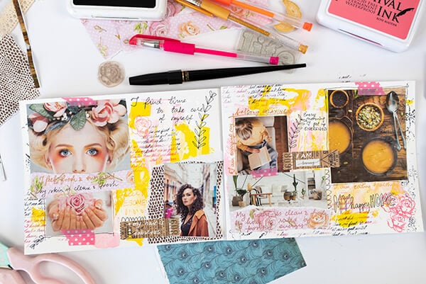 art journal prompts for spring