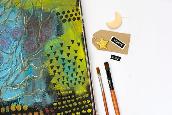 How to Draw Easy And Cool Patterns in Your Art Journal