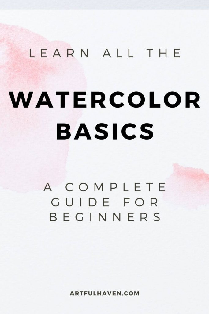 a guide to watercolor painting