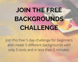 background challenge for beginners
