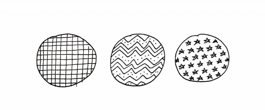 patterns within circles