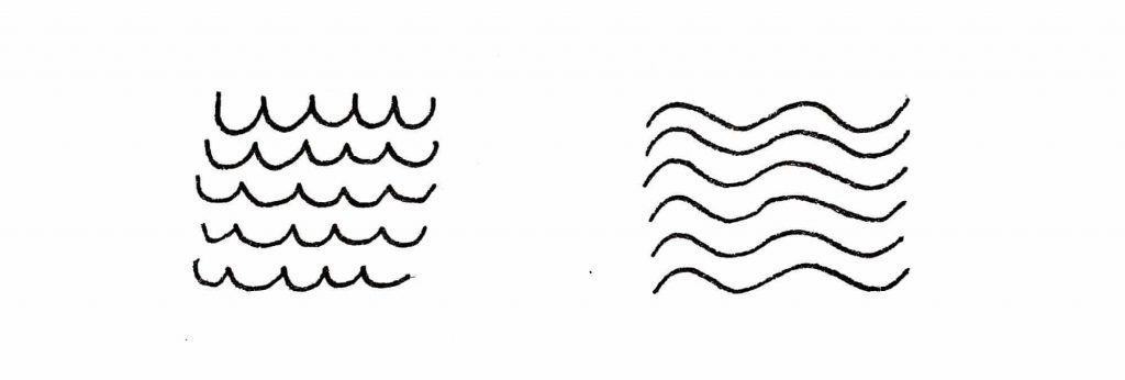 patterns with curvy lines