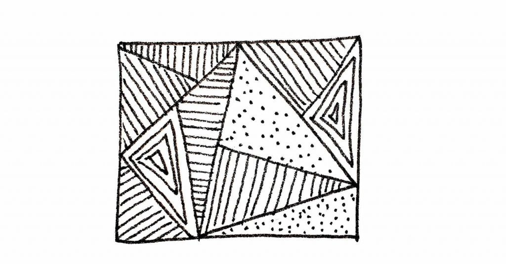 triangles and lines