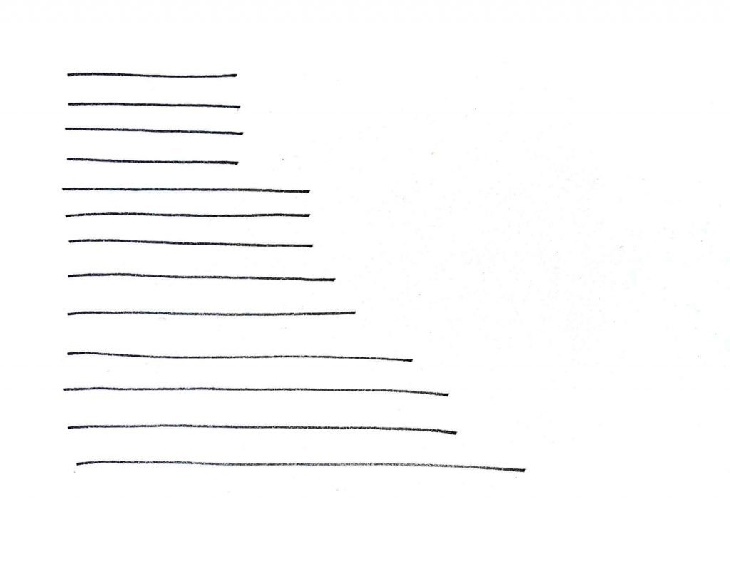 drawing exercises with straight lines
