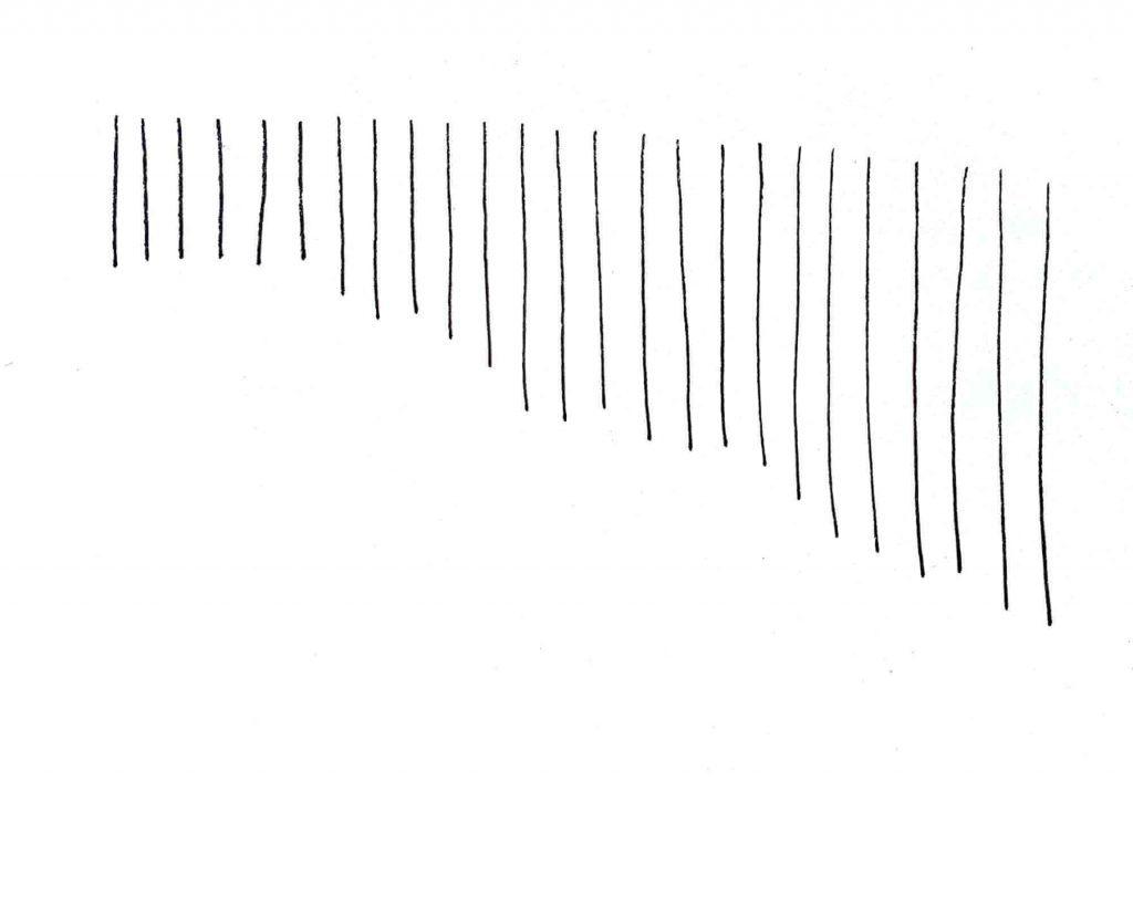 horizontal straight lines