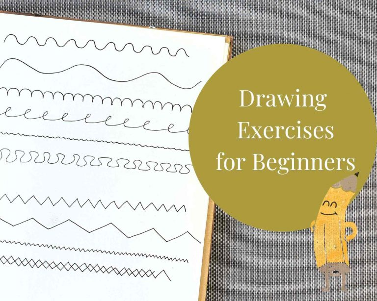13 Drawing Exercises for Art Journaling Beginners (Absolutely Easy to Do)