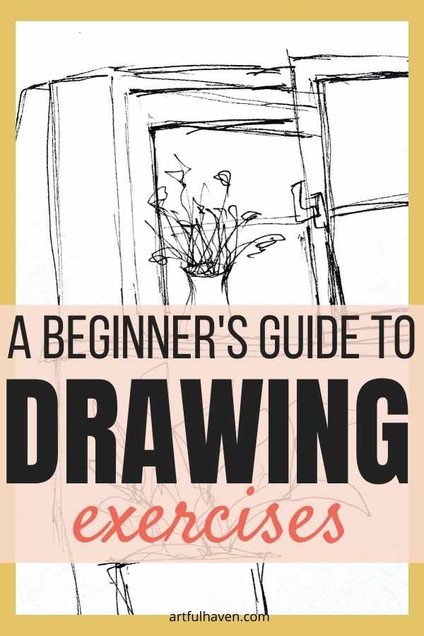 drawing exercises pinterest