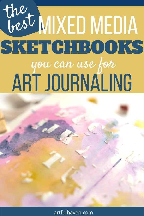 best mixed media sketchbooks pinterest